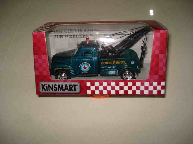 Мет.маш.КТ5033W 1953 Chevrolet 3100 Wrecker 1:38 24 шт.в блоке
